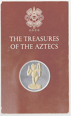 Medal The Treasures of The Aztecs RARE The monkey of the underground