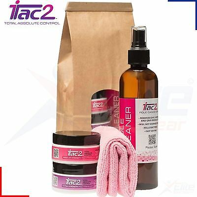 iTac2 Pole Dance Combo Kit - Regular Tub + Extra Tub + Pole Cleaner + Cloth