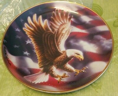 American eagle plate collectors plate new