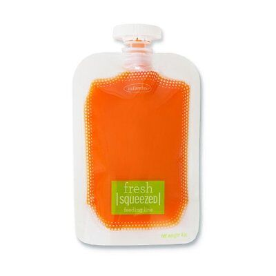 Infantino Squeeze Pouches, 50-Count , New, Free Shipping