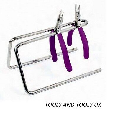 Sturdy Metal Steel Rack/ Stand Holder For Pliers Jewelry Tools Beading Organizer