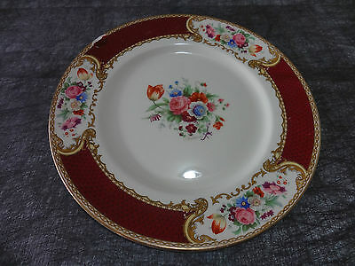 """MYOTTS. 11"""" PLATE. """"THE BOUQUET"""". 238I. ROYAL CROWN. STAFFORDSHIRE ENGLAND"""