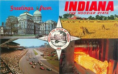 Indiana - IN:  Greetings From The Hoosier State   IN1410066