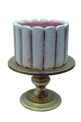 Cake On Stand Statue - Lady Fingers Restaurant Bakery Display Prop