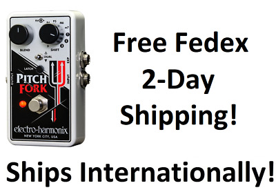 New Electro-Harmonix EHX Pitch Fork Polyphonic Shifter Guitar Pedal! Pitchfork