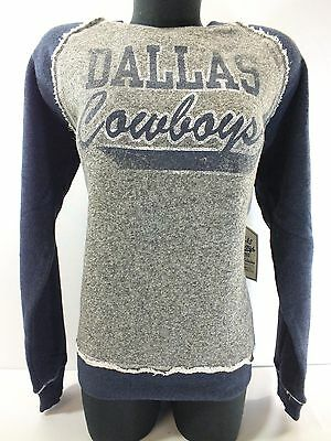 Dallas Cowboys Nfl Ramshackle Crew L/s New By Legend Collections D10