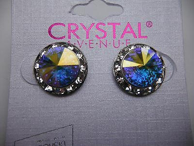 Ab crystal earrings dance moms Ballroom competition perfomance swarovski kids