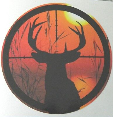 Gun Site - Deer -  Sticker  - Humor -  Must Have -  Sticker