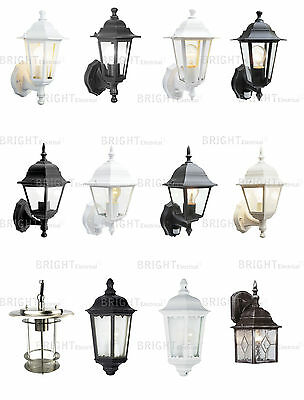 Outdoor Wall Lantern Garden Wall Light Exterior Traditional 4 Sided 6 Sided PIR