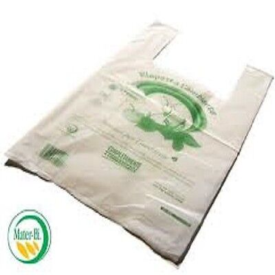 500 Shopper Buste Biodegradabili Compostabili 24 X 40 Shoppers Bio A Norma