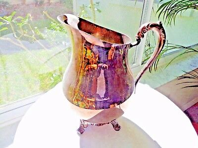 F.B. Rogers Silverplate Water Pitcher with Ice Catcher