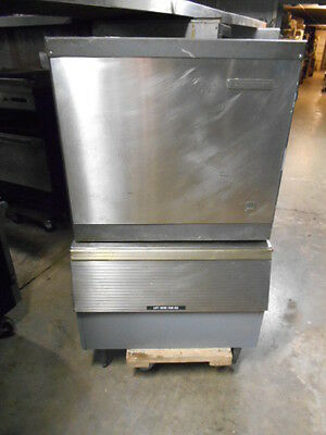 USED Scotsman 307 Pound Air Cooled Ice Machine with Bin