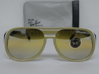82f24f401edcb New Vintage B L Ray Ban Timberline Double Gradient Mirror Tri-Color USA  Aviator