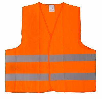 High Visibility Reflective Vest Accident Safety warning EN ISO 20471: 2013