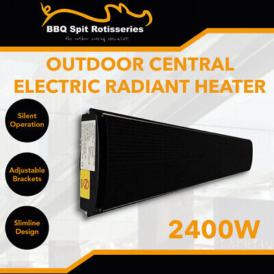 2400W Electric Infrared Radiant Outdoor Strip Heater