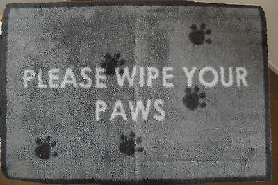 Turtle Mat -Dirt Trapper- Please wipe Your Paws- MULTI GRIP - 60x85cm