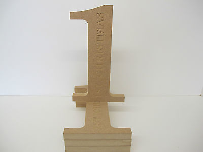 ENGRAVED  1st  CHRISTMAS.Freestanding Ex Large 250mm High