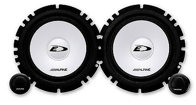 "Alpine SXE-1750S 6.5"" 17cm 2 Way Component Car Speakers 1 Set 280w"