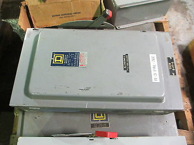 Square D #H364 200A 3P 600V N-1 Fusible Safety Switch