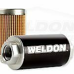Weldon Racing Fuel Pump EFI and Carbureted Filter Assembly WEQ1040CLN
