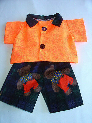 Fits14''Cabbage patch Doll ,Clothes Boys shirt and pants Bears