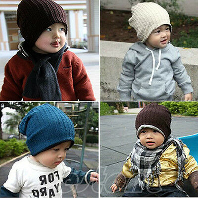 Unisex Cotton Hat For Girl Boy Kid Toddler Warm Cap Beanie Baby Hair Accessories