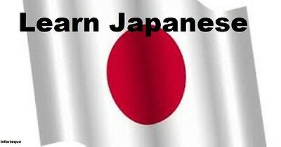 Learn Japanese -100 Lessons Audio Book MP3 CD-iPod Friendly