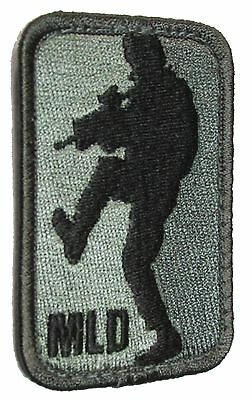 Mld Major League Door Kicker Army Military Tactical Morale Acu Dark Hook Patch