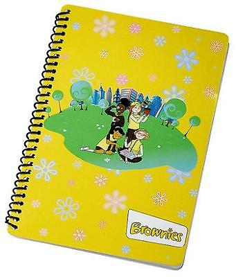 Brownie A5 Notepad Official Girlguiding New
