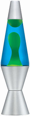 "Yellow/Green and Blue 20 oz. Lava Lite Lava Lamp 14.5"" High"