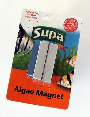 Supa Small Magnetic Algae Cleaner Aquarium Fish Tank Cleaning Magnet (S180)