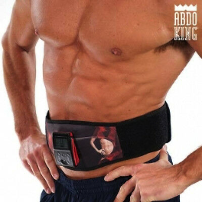 CEINTURE ÉLECTROSTIMULATION fitness belt gym sport abdominal exercises ABDO KING