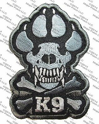 K-9 TACTICAL ISAF ATTACK DOGS OF WAR OEF OIF BADGE MORALE VELCRO MILITARY PATCH