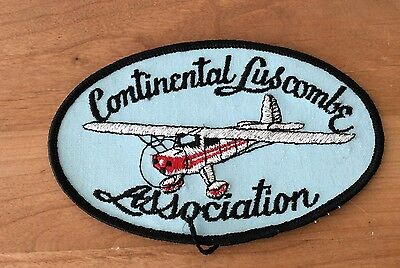 Vintage CONTINENTAL LUSCOMBE ASSOCIATION  Airplane -- Aircraft