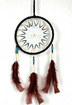 Extra Large Dream Catcher New Handmade By South American Native Indians Brown