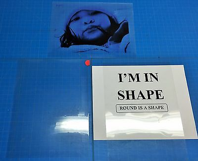 PREMIUM Transparency film inkjet paper pack of 5 SHEETS(8.5x11)