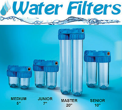 "Whole House Water Filters ATLAS DUPLO hight 5"", 7"",10"", 20"""