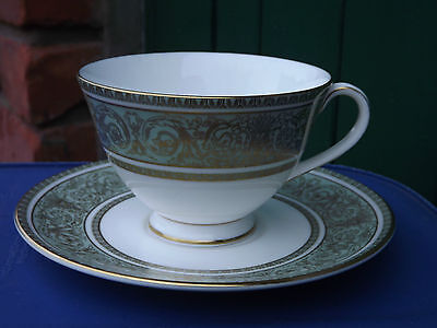 Vintage Royal Doulton English Renaissance pattern cup and saucer - 3 available