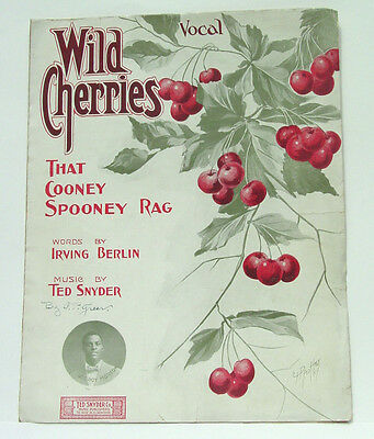 Wild Cherries - That Cooney Spooney Rag - Lee Roy Morton / Ted Snyder 1908