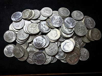 1964 Kennedy Half Dollars - Lot Of (5) 90% Silver Bullion
