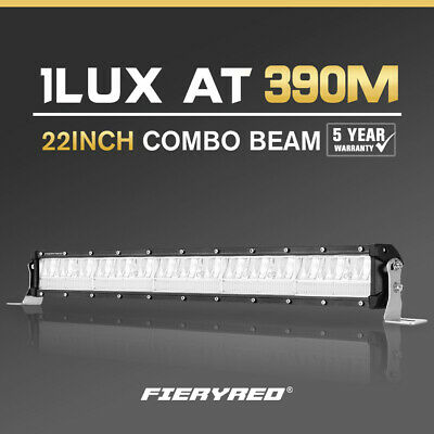 28inch 300W LED Light Bar SPOT FLOOD Combo OFFROAD Work Lamp Philips Lumileds