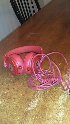 Beats by Dr. Dre Mixr Headband Headphones - All Red