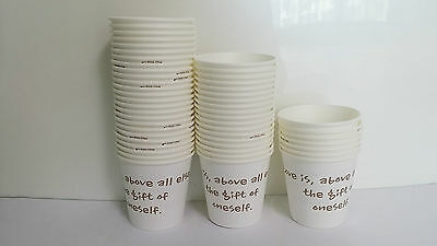 50~1000 DONGSUH MAXIM Disposable Paper Cup 185ml(6.5oz) Coffee Tea Drink Water