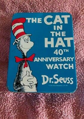 Dr. Seuss Limited Edition The Cat in the Hat 40th Anniversary Watch (1957-1997)