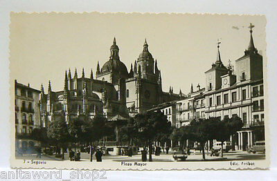 11969 - Postal De Segovia Plaza Mayor
