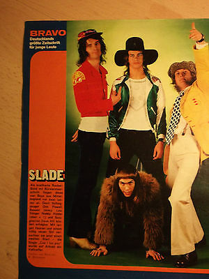1 german clipping SLADE NOT SHIRTLESS ROCK BOY GLAM BAND BOYS TEEN IDOL 70s