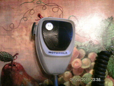 Motorola CB Microphone HMN 4001A For Parts,Needs Tlc.Used.