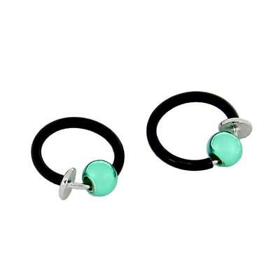 Cosplay Anime Dramatical Murder Virus Earrings Ear Studs Cuff Punk DMMd Gift