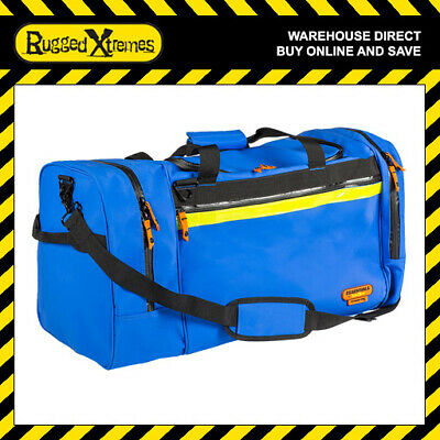 Rugged Xtremes Essentials Blue PVC  Offshore Crew Bag Equipment Storage Travel