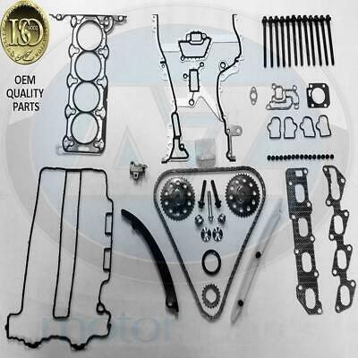 Agila Astra Combo 1.2 1.4 Twin port Engine Timing chain kit head gasket bolts